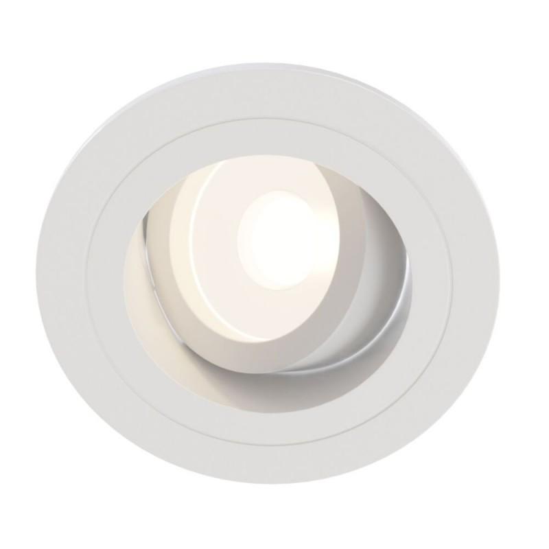 Maytoni-DL025-2-01W - Atom - Adjustable White Recessed Downlight Ø 9.2 cm