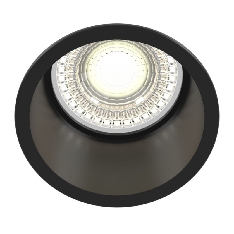 Maytoni-DL049-01B - Reif - Black Recessed Downlight Ø 6.8 cm