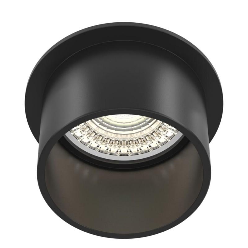 Maytoni-DL050-01B - Reif - Black Recessed Downlight Ø 6.8 cm