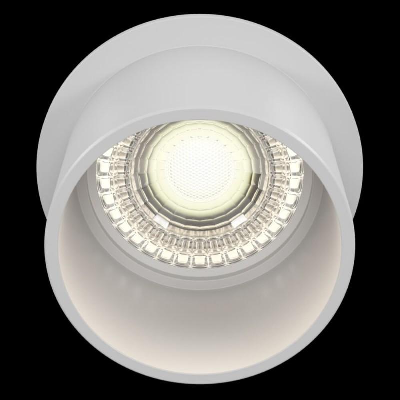 Maytoni-DL050-01W - Reif - White Recessed Downlight Ø 6.8 cm