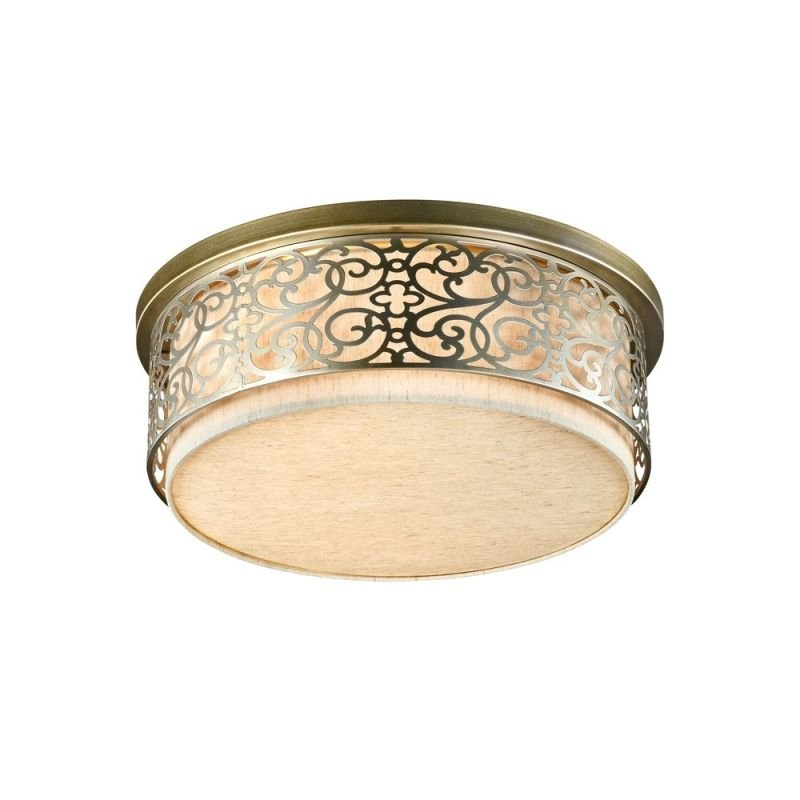 Maytoni-H260-05-N - Venera - Fabric with thermal layer 5 Light Ceiling lamp- Brass