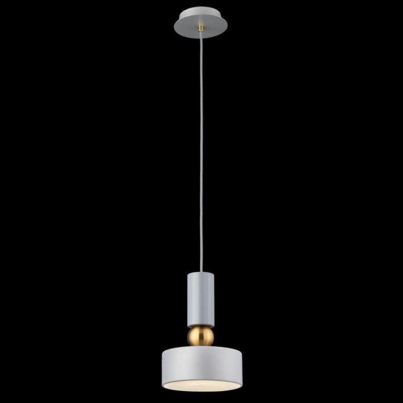 Maytoni-MOD030PL-01GR - Void - Grey & Antique Brass Single Pendant