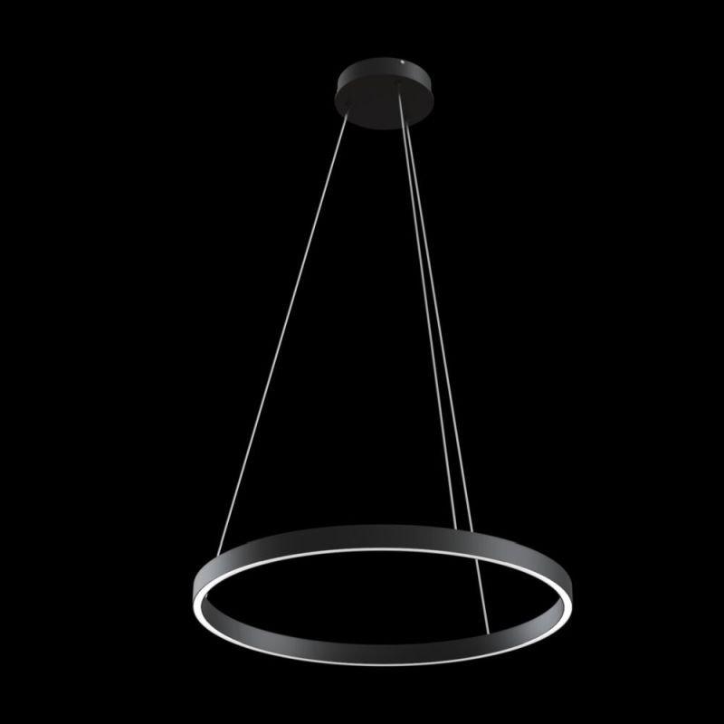Maytoni-MOD058PL-L32B4K - Rim - LED Black Metal Ring Pendant Ø60