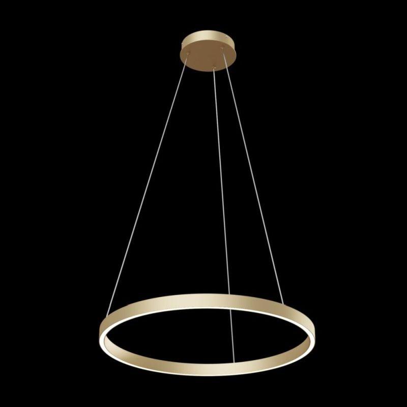 Maytoni-MOD058PL-L32BS4K - Rim - LED Gold Metal Ring Pendant Ø60