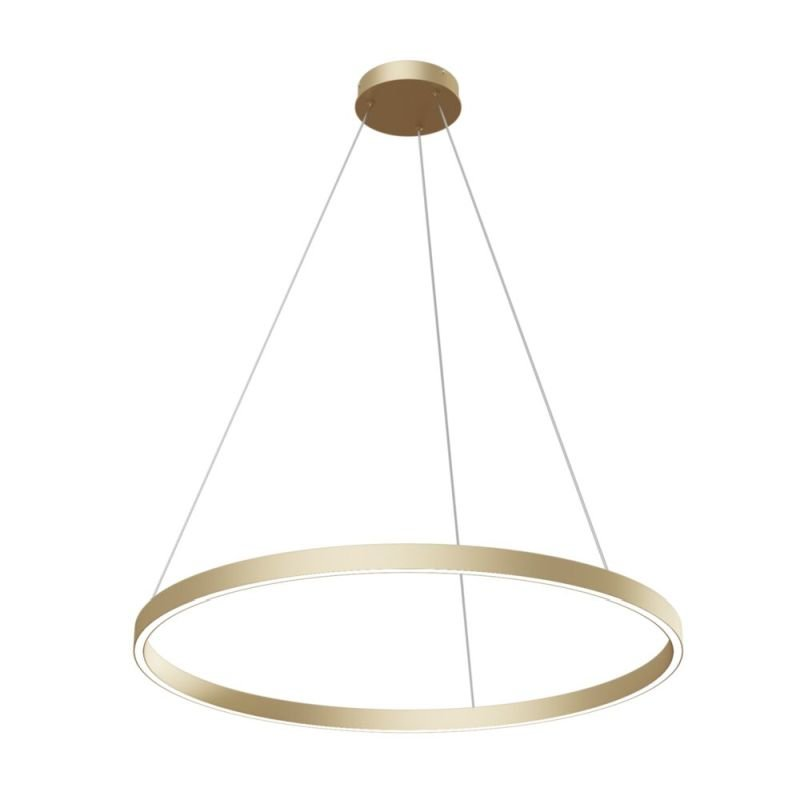 Maytoni-MOD058PL-L42BS4K - Rim - LED Gold Metal Ring Pendant Ø80
