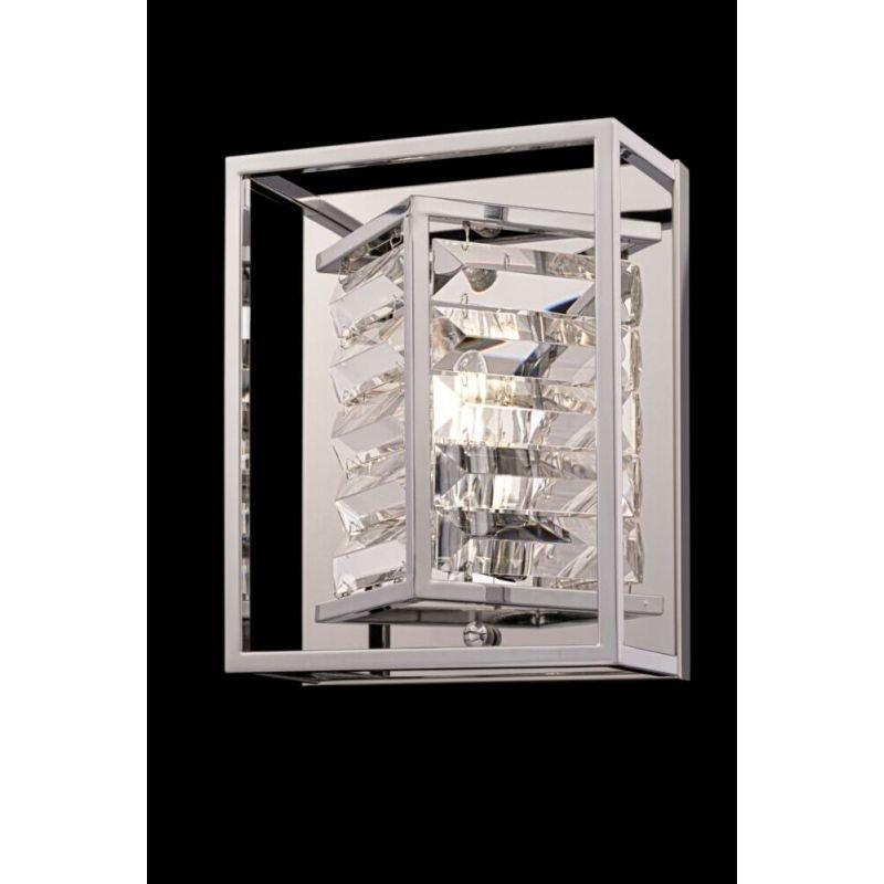 Maytoni-MOD060WL-01CH - Tening - Crystal & Chrome Wall Lamp