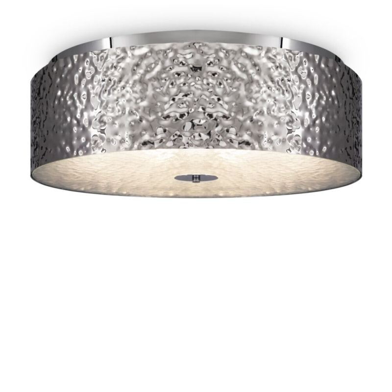 Maytoni-MOD096CL-05CH - Ripple - Decorative Frosted Glass & Chrome 5 Light Ceiling Lamp