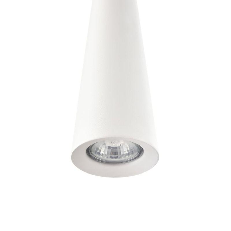 Maytoni-P318-PL-01-W - Nevill - White Metal Single Hanging Pendant