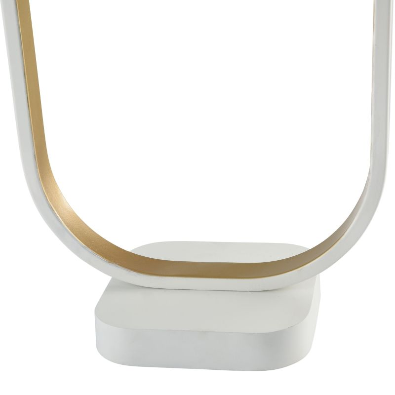 Maytoni-MOD431-TL-01-WG - Avola - Globe White with Gold Table Lamp