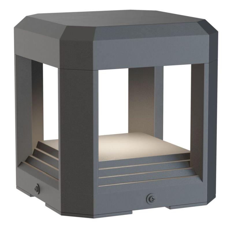 Maytoni-O019FL-L13GR3K - Royal Mile - LED Anthracite Small Bollard
