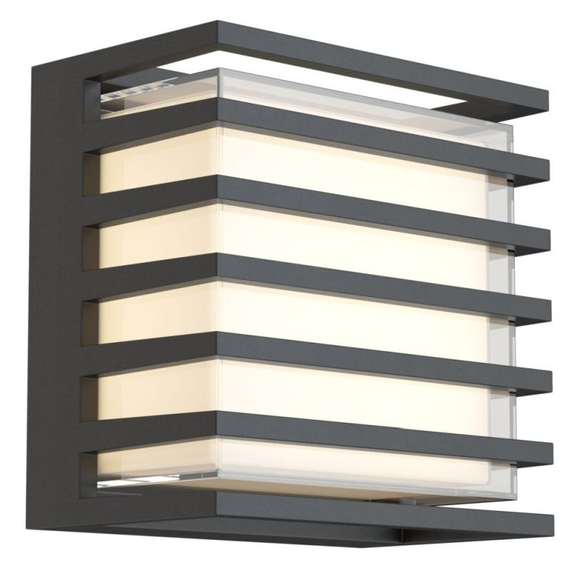 Maytoni-O020WL-L10B4K - Downing Street - LED Black & White Wall Lamp