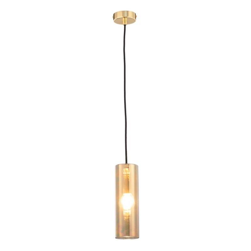 Maytoni-P011PL-01G - Gioia - Galvanized Glass with Gold Single Pendant