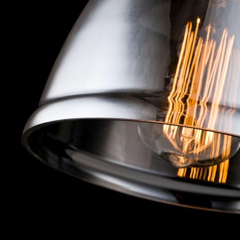 Maytoni-T163-01-C - Irving - Single Wall Lamp with Smoked Glass