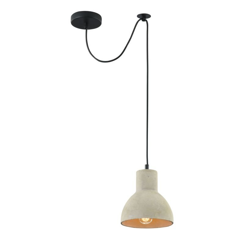 Maytoni-T434-PL-01-GR - Broni - Grey Concrete Single Pendant