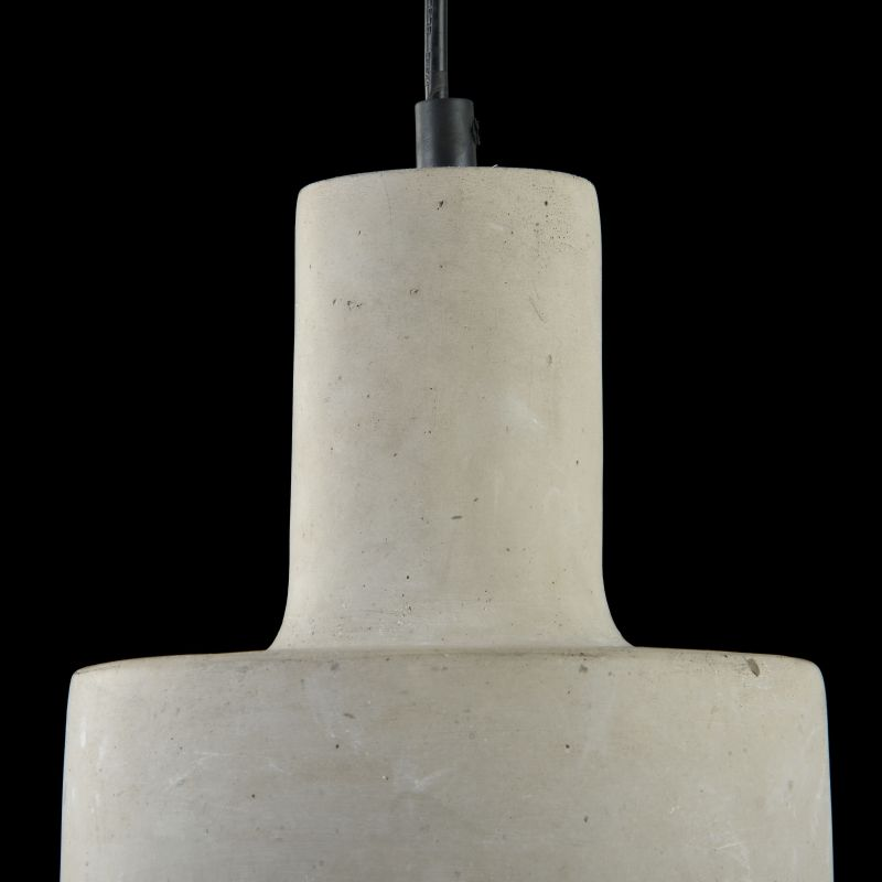 Maytoni-T439-PL-01-GR - Broni - Grey Concrete Single Pendant