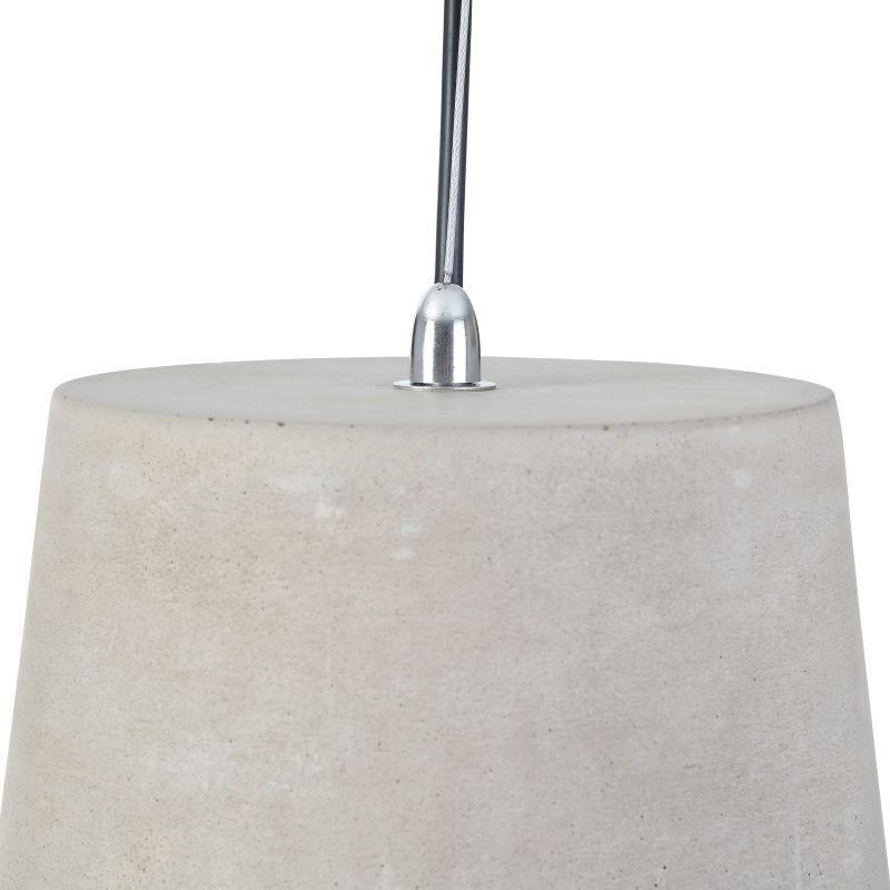 Maytoni-T440-PL-01-GR - Broni - Grey Concrete Single Pendant