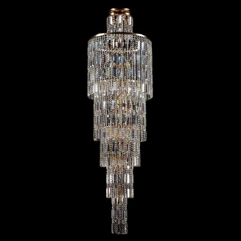 Maytoni-DIA003-PT50-G - Niagara - Crystal 16 Light Chandelier - Gold