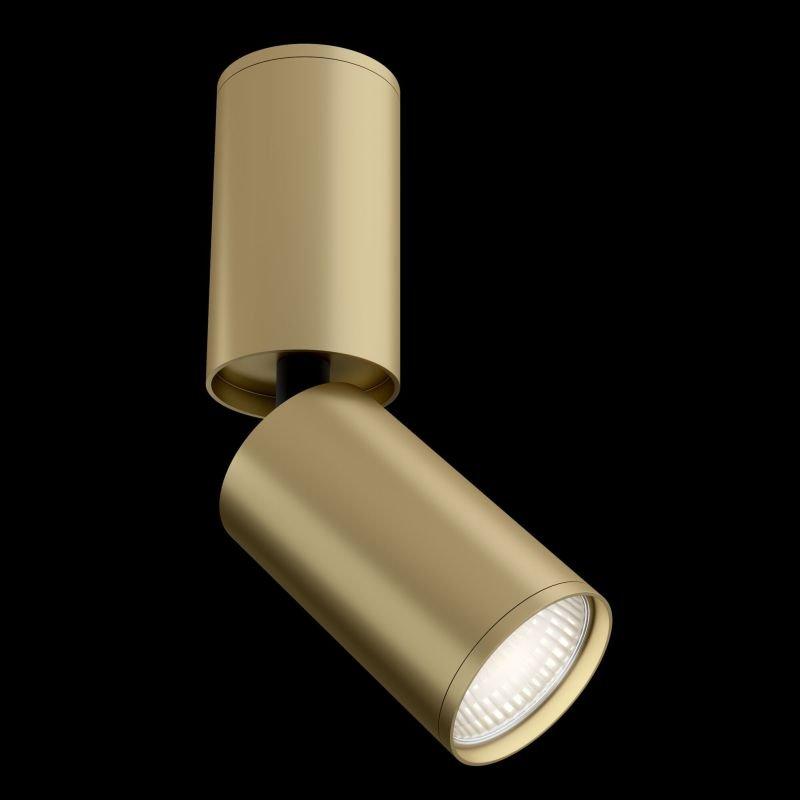 Maytoni-C051CL-01MG - Focus S - Adjustable Matt Gold Spotlight