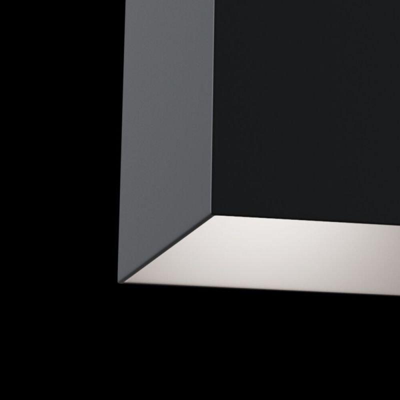 Maytoni-C015CL-01B - Alfa - Surface-Mounted Black Rectangular Spotlight