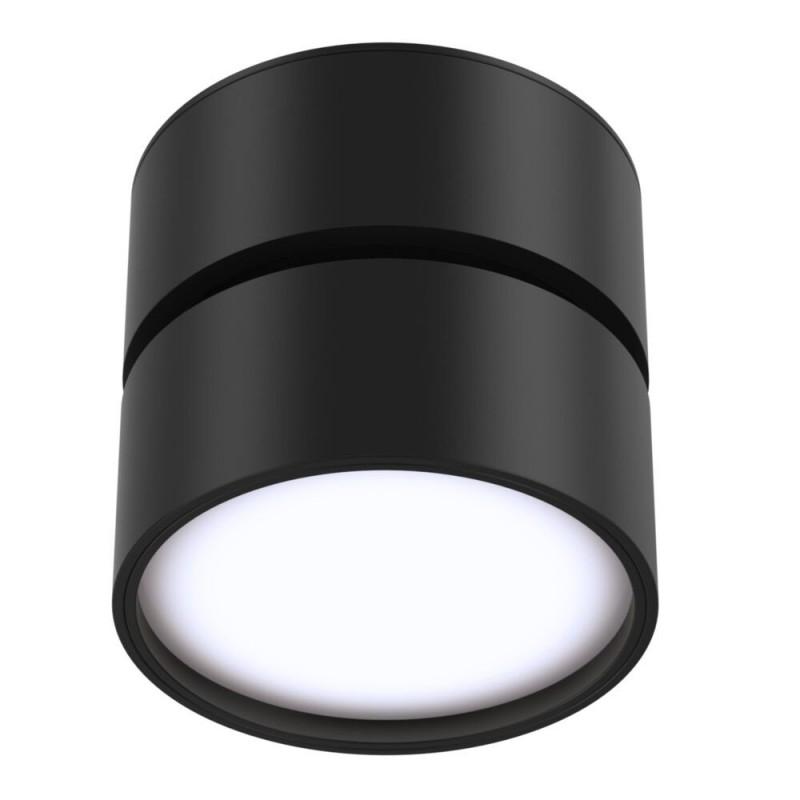 Maytoni-C024CL-L12B4K - Onda - Natural White LED Adjustable Black Spotlight