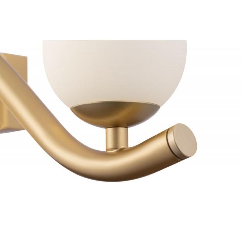 Maytoni-MOD059WL-05G - Uva - White & Matt Gold 5 Light Wall Lamp