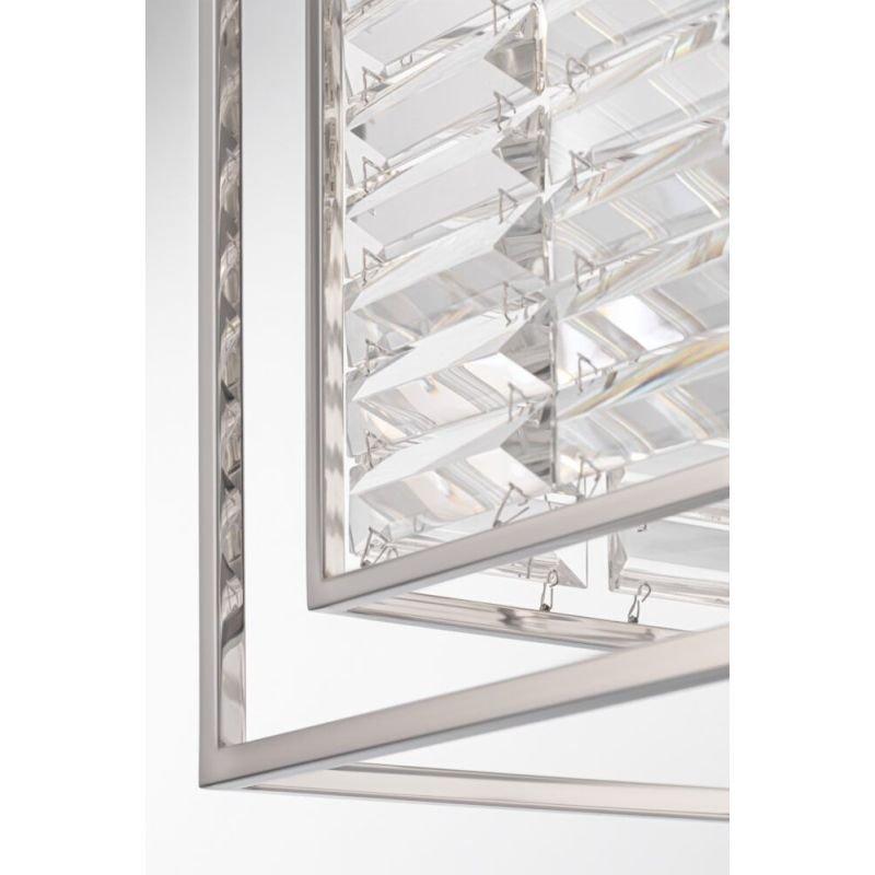 Maytoni-MOD060PL-04CH - Tening - Crystal & Chrome 4 Light Lantern Pendant
