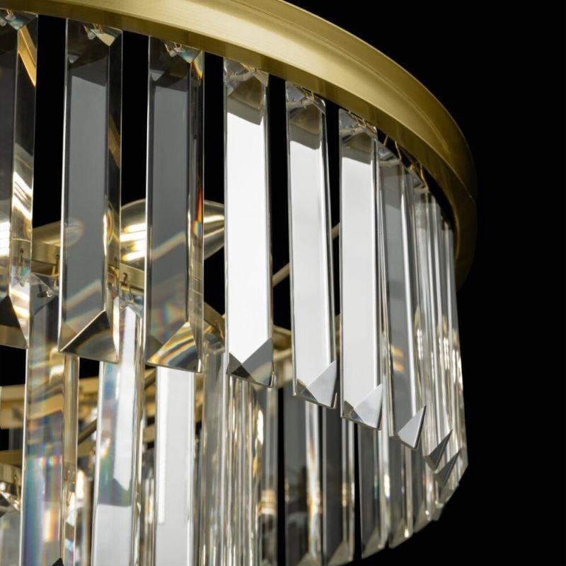 Maytoni-MOD085PL-16BS - Revero - Crystal & Painted Gold 16 Light Chandelier