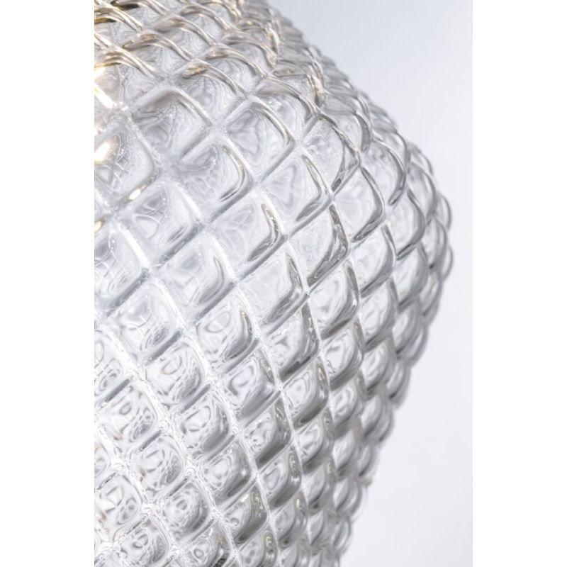 Maytoni-P044PL-01B - Tommy - Clear Textured Glass Big Pendant