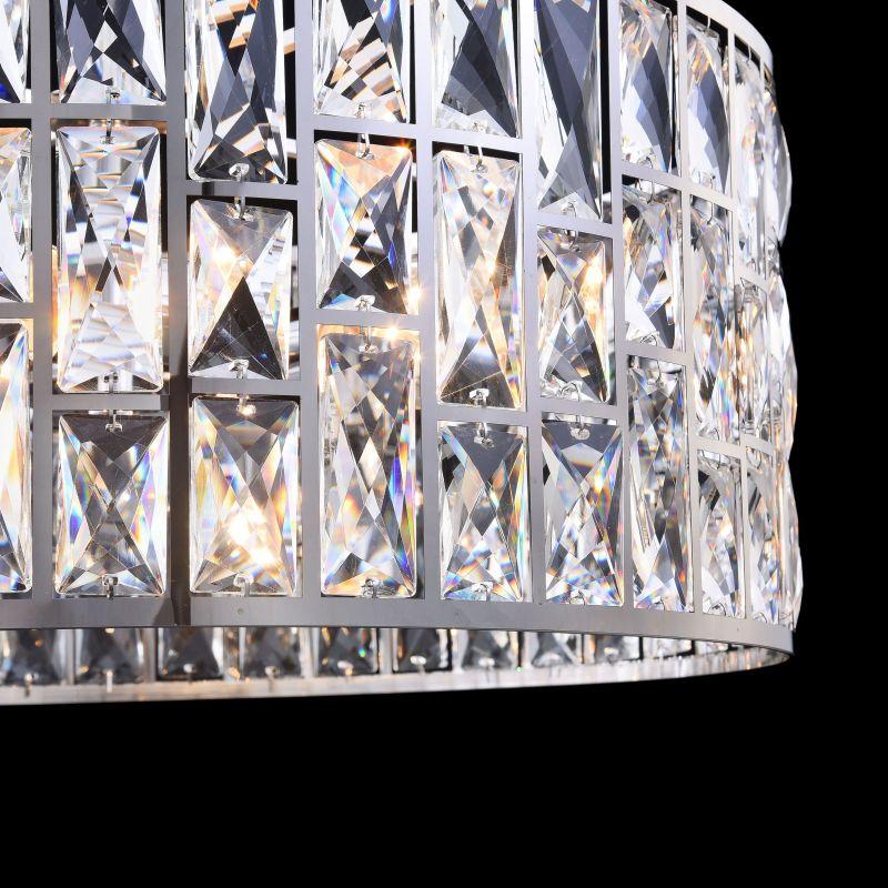 Maytoni-MOD184-PL-04-CH - Gelid - Crystal 4 Light Hanging Pendant -Chrome