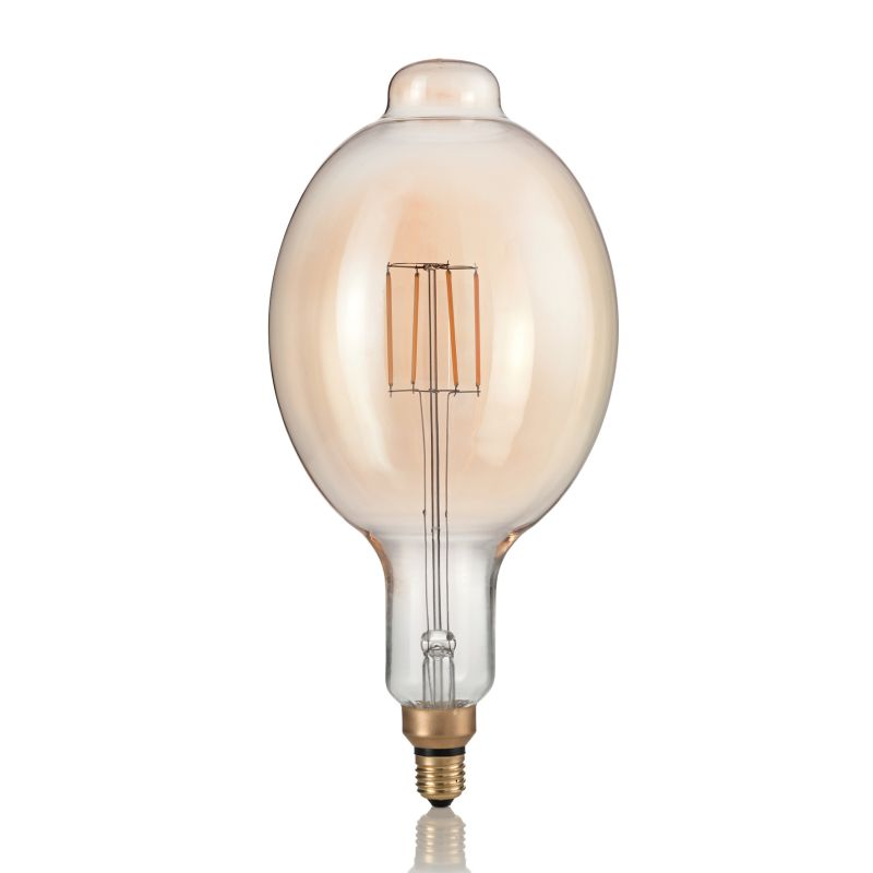 IdealLux-129860 - Ideal Lux - E27 Large Decorative Amber Bulb