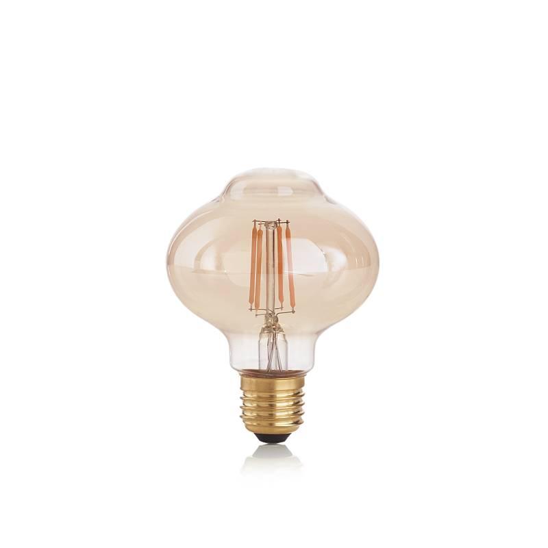 IdealLux-201283 - Ideal Lux - E27 Decorative Amber Bulb