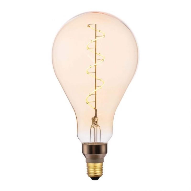 Dar-BUL-E27-LEDV-12 - Dar - E27 Dimmable Large Decorative Amber Bulb