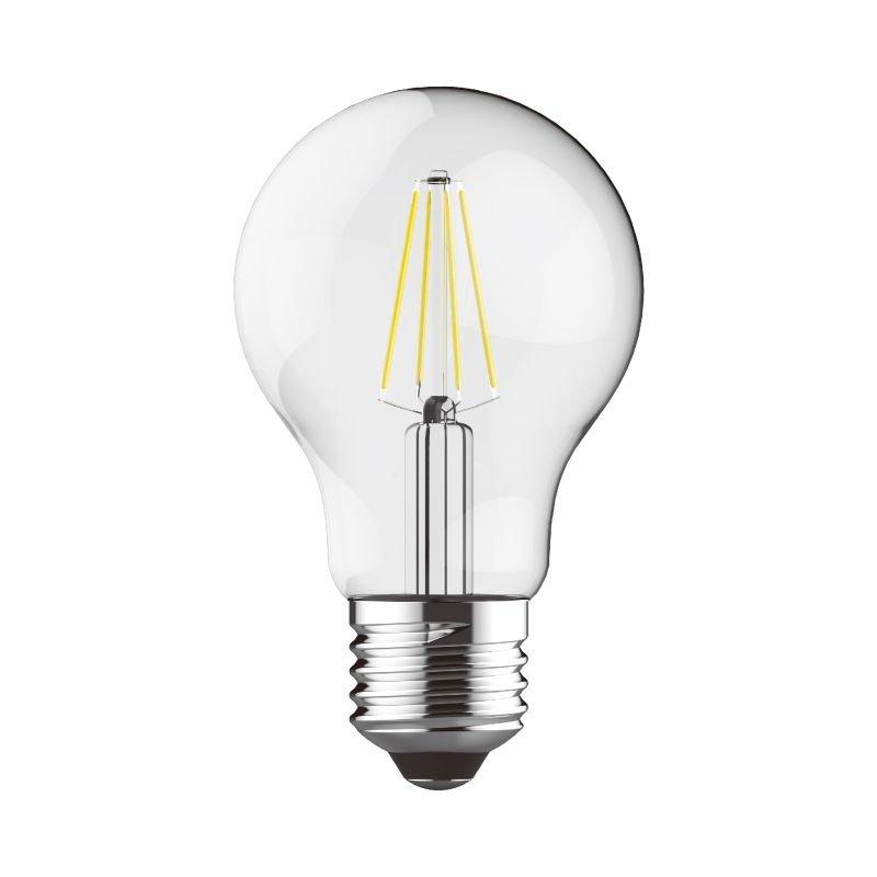 Luxram-1410121 - Luxram - E27 Dimmable Clear Classic Bulb 8W