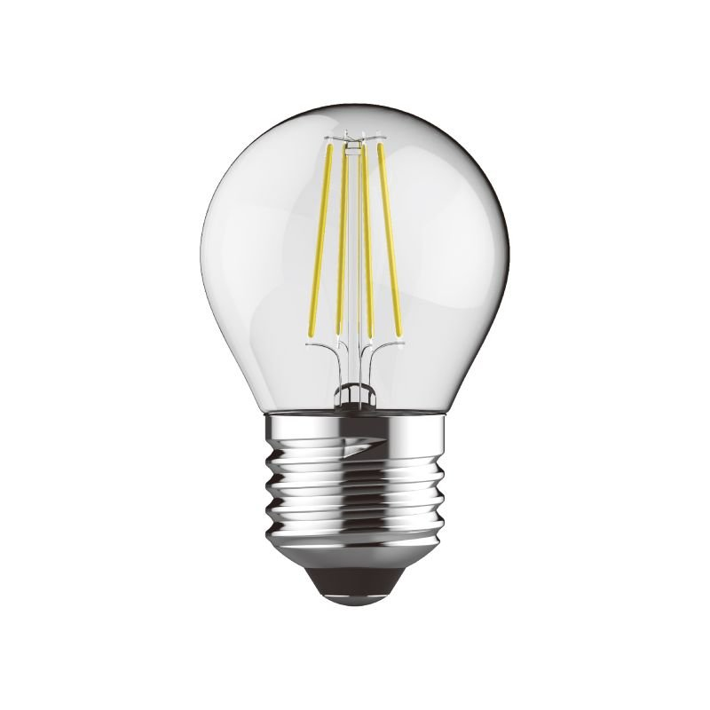 Luxram-1410931 - Luxram - E27 Dimmable Clear Golf Ball Bulb 4W