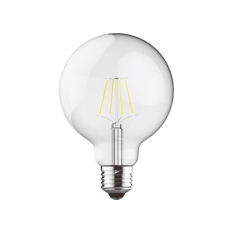 Luxram-1411221 - Luxram - E27 Dimmable Clear Small Globe Bulb 6.5W