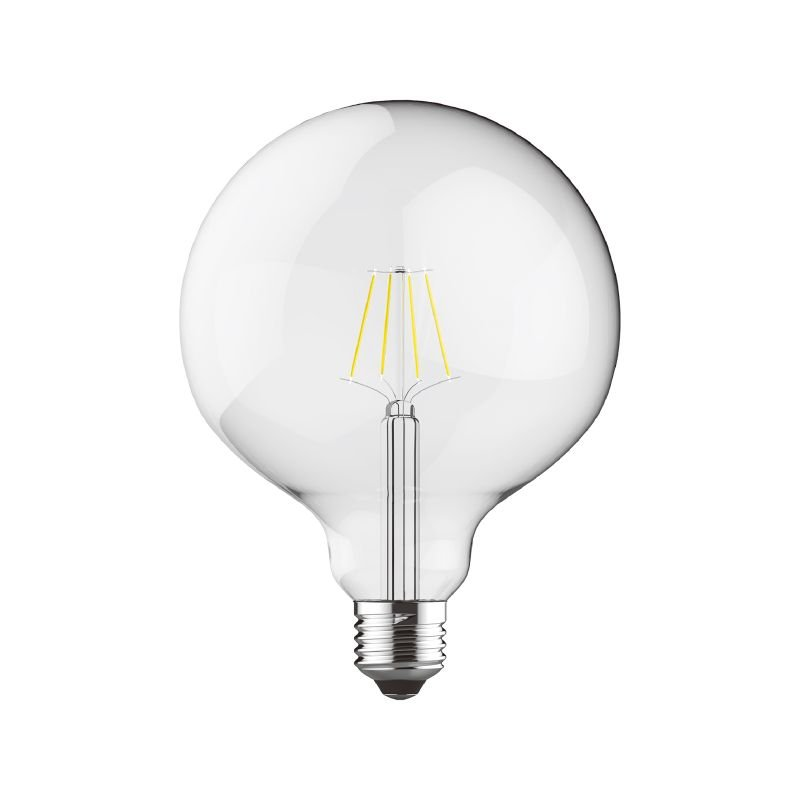 Luxram-1411371 - Luxram - E27 Dimmable Clear Big Globe Bulb 6.5W