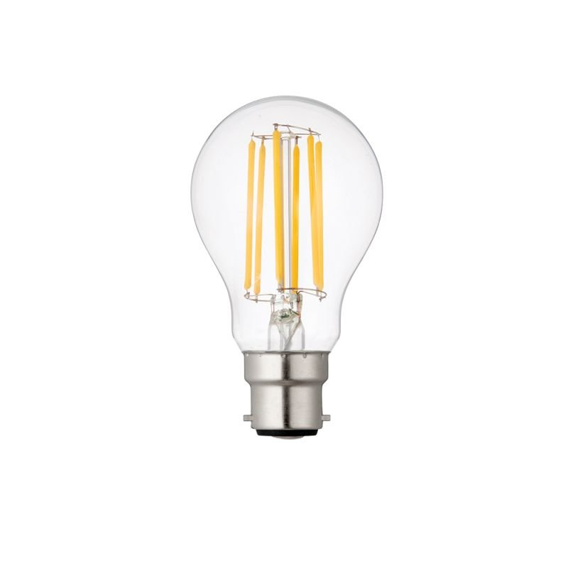 Saxby-76800 - Saxby - B22 Dimmable Clear Classic Bulb 8W