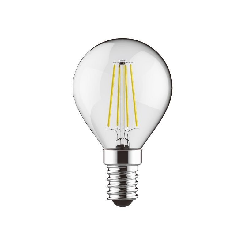 Luxram-1410801 - Luxram - E14 Dimmable Clear Golf Ball Bulb 4W